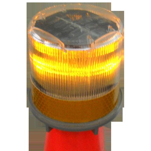Compact Solar Warning Beacon