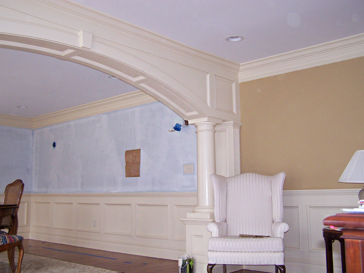 Interior Trim Work : Custom trim work bergen county interior upgrades