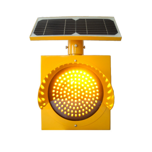Solar Traffic Light Vertical Mount
