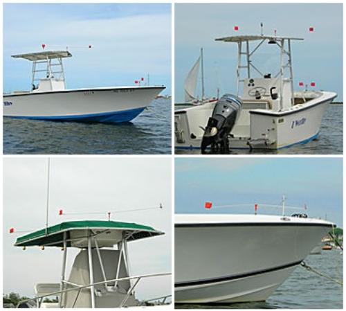 Gullsweep Bird Deterrent for Boats - Standard Model