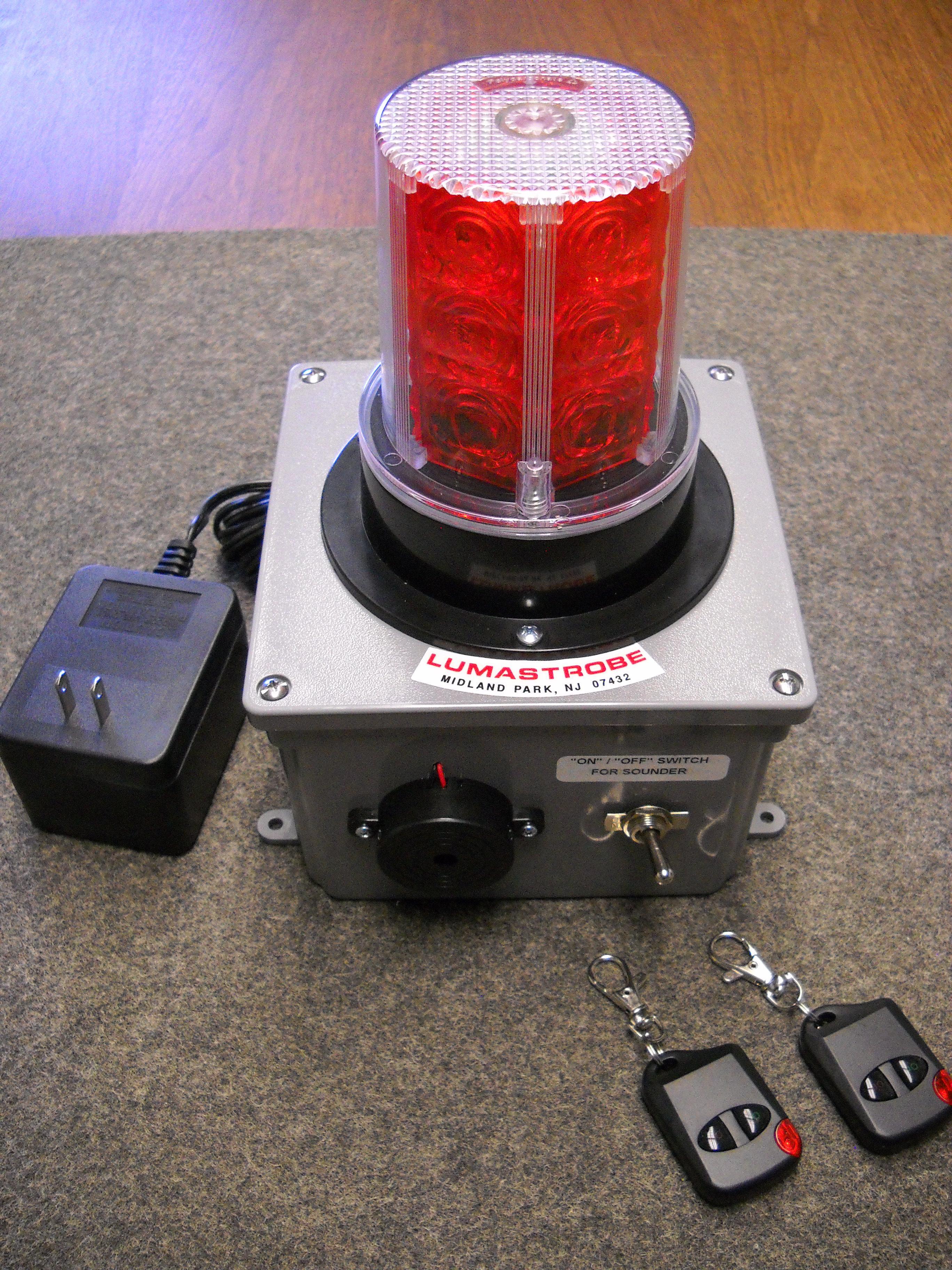 Rclx 36 120 Buzz Flasher And Audible Alarm