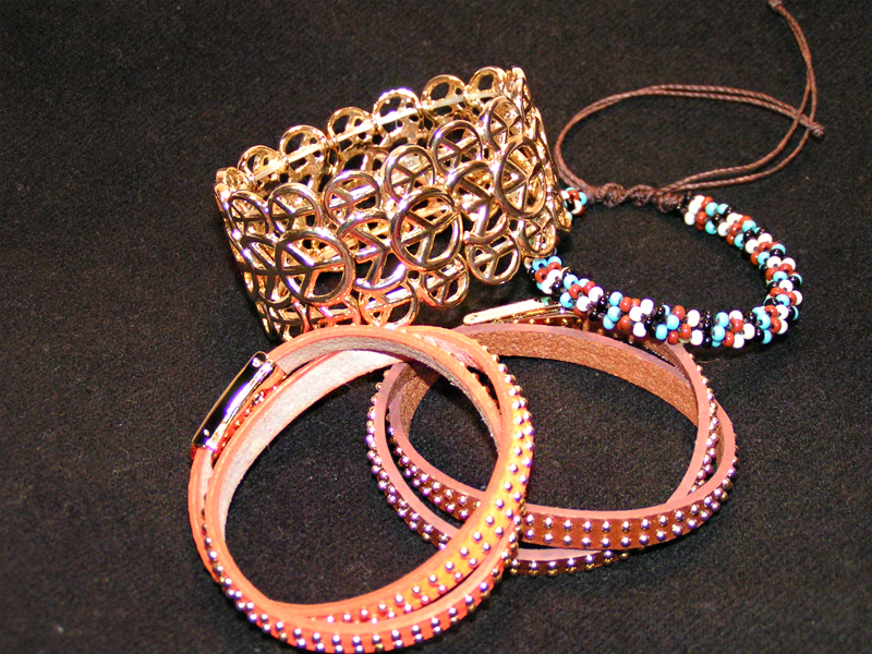 Leather And Other Casual Bracelets