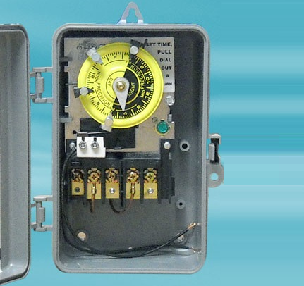 Pool Timer With Heater Delay Circuit