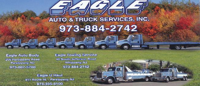 Towing, Auto Body Repair Shop, U-Haul Rentals - Morris