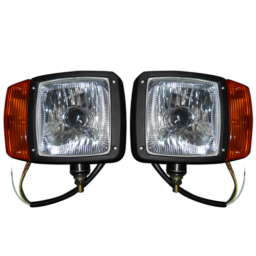 High intensity led light bar snow plow headlights aloadofball Choice Image