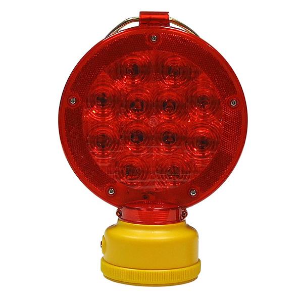 Portable Barricade Warning Light